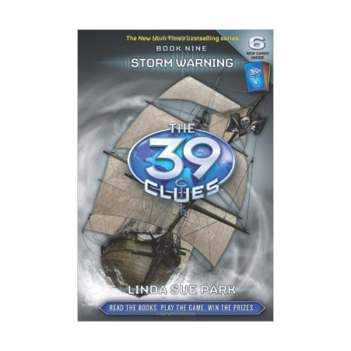 [스콜라스틱]  The 39 Clues #09 : Storm Warning (Hardcover)