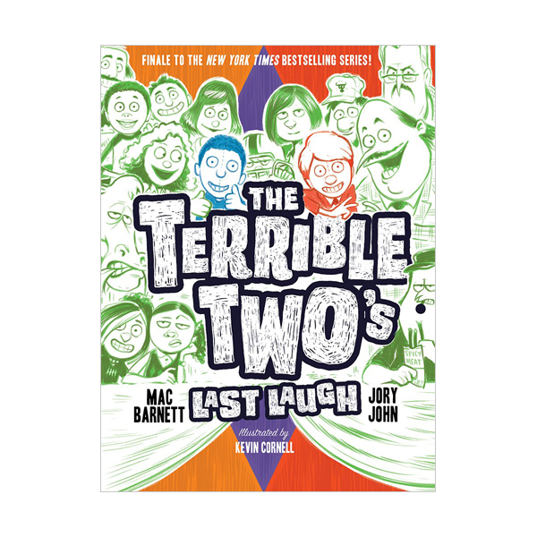 RL 4.6 : The Terrible Two #4 : The Terrible Two's Last Laugh (Hardcover)