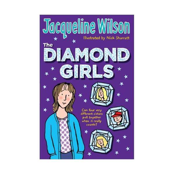 RL 4.7 : Jacqueline Wilson Teen : The Diamond Girls (Paperback)