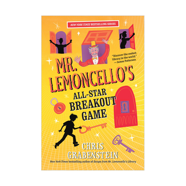 RL 4.7 : Mr. Lemoncello's Library #4 : Mr. Lemoncello's All-Star Breakout Game (Paperback)