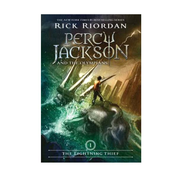 Percy Jackson and the Olympians #01: The Lightning Thief (Paperback)