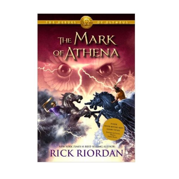 RL 4.8 : The Heroes of Olympus #3 : The Mark of Athena (Paperback)