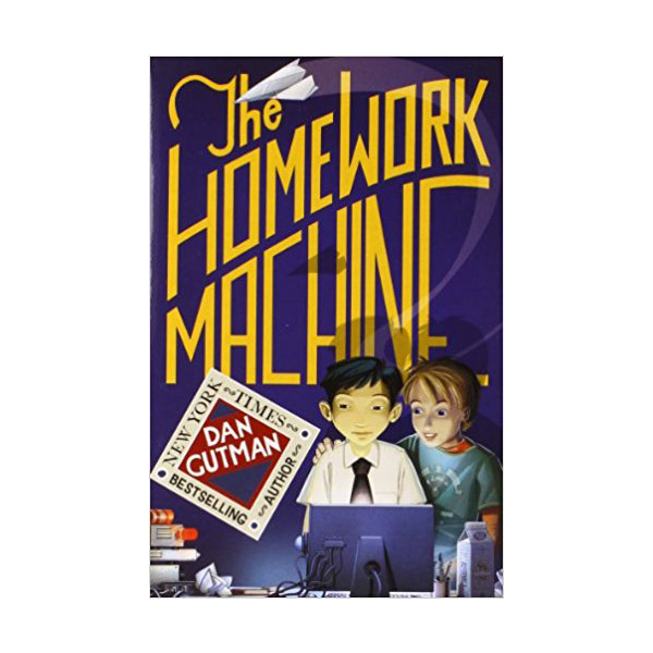 RL 4.8 : The Homework Machine (Paperback)