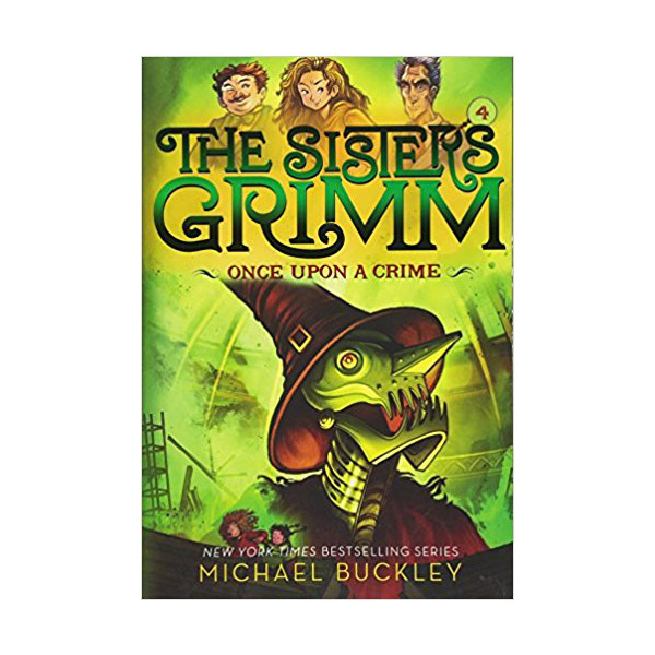 RL 4.8 : The Sisters Grimm #4 : Once Upon a Crime (Paperback, 10th Anniversary Edition)