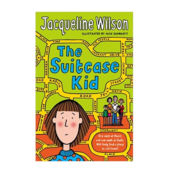 RL 4.9 : Jacqueline Wilson 고학년 : The Suitcase Kid (Paperback)