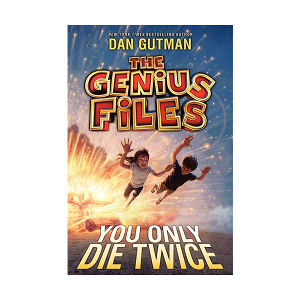 RL 4.9 : The Genius Files #3 : You Only Die Twice (Paperback)