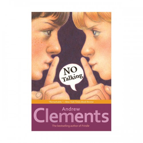 [특가] RL 5.0 : Andrew Clements : No Talking (Paperback)