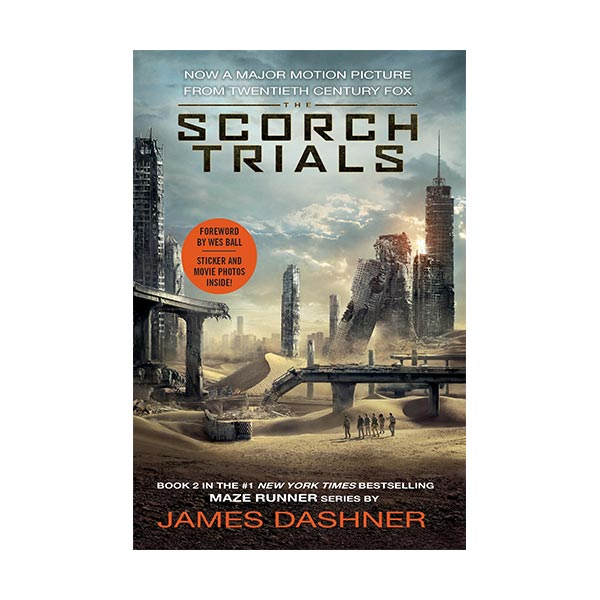RL 5.0 : Maze Runner #2 : The Scorch Trials (Paperback, Movie Tie-in)