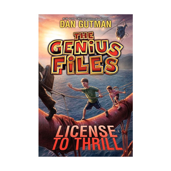 RL 5.0 : The Genius Files #5 : License to Thrill (Paperback)