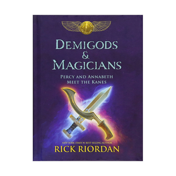 RL 5.1 : Demigods & Magicians : Percy and Annabeth Meet the Kanes (Hardcover)