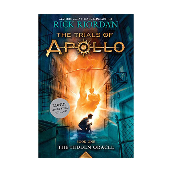 The Trials Of Apollo #01 : The Hidden Oracle (Paperback)