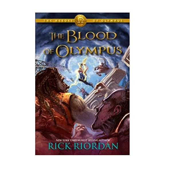 [구판] The Heroes of Olympus #05 : The Blood of Olympus (Paperback)