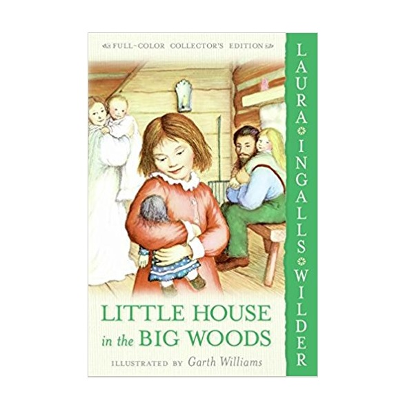 Little House #01 : Little House in the Big Woods (Paperback)