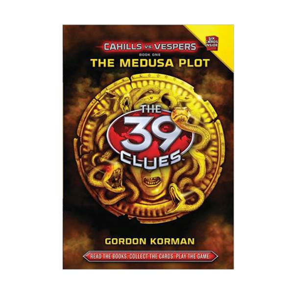 [스콜라스틱]  The 39 Clues: Cahills vs. Vespers #01 : The Medusa Plot (Hardcover)
