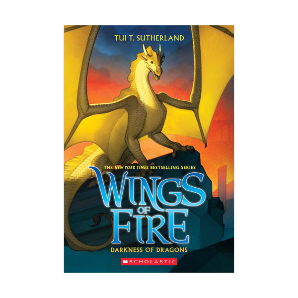 RL 5.3 : Wings of Fire Series #10 : Darkness of Dragons (Paperback)