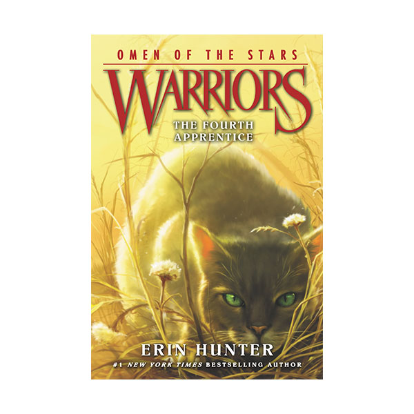 RL 5.4 [Warriors 4부] Omen of the Stars #1: The Fourth Apprentice (Paperback)