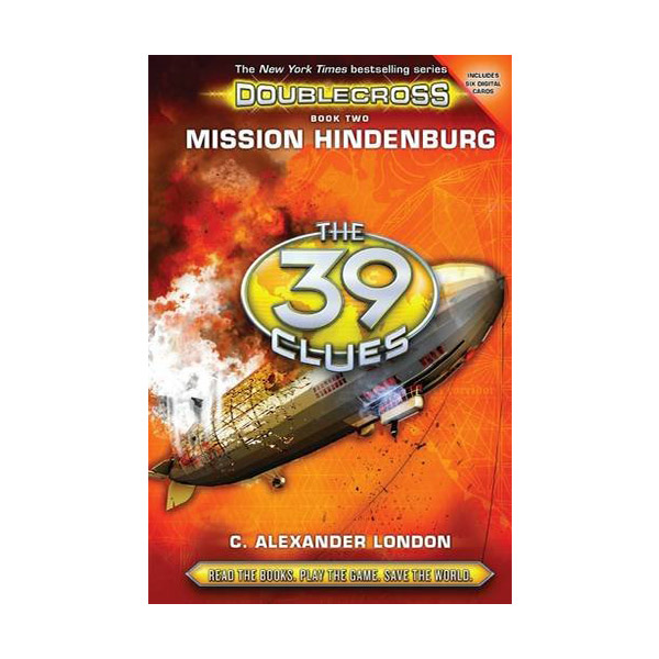 [스콜라스틱]  The 39 Clues : Doublecross #02 : Mission Hindenburg (Hardcover)
