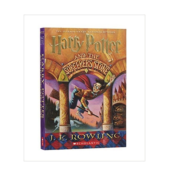 RL 5.5 : Harry Potter #1: Harry Potter and the Sorcerer's Stone (Paperback)