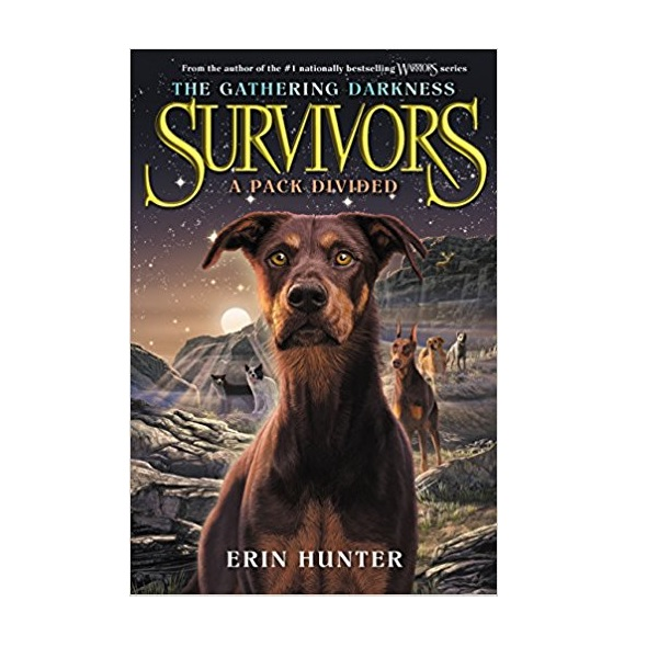 RL 5.5 : Survivors the Gathering Darkness #1 : A Pack Divided (Paperback)