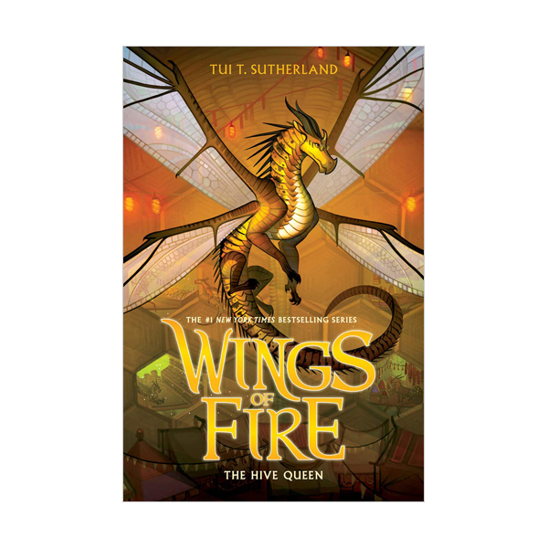 RL 5.5 : Wings of Fire Series #12 : The Hive Queen (Hardcover)