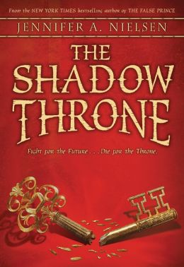 [스콜라스틱] Ascendance Trilogy #3 : The Shadow Throne (Paperback)