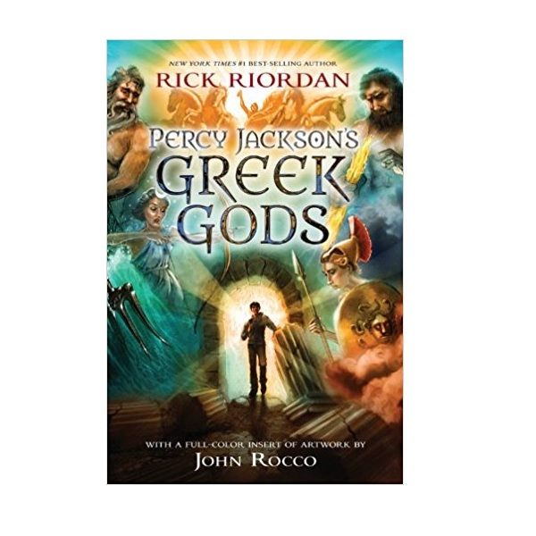 Percy Jackson Greek Gods (Paperback)