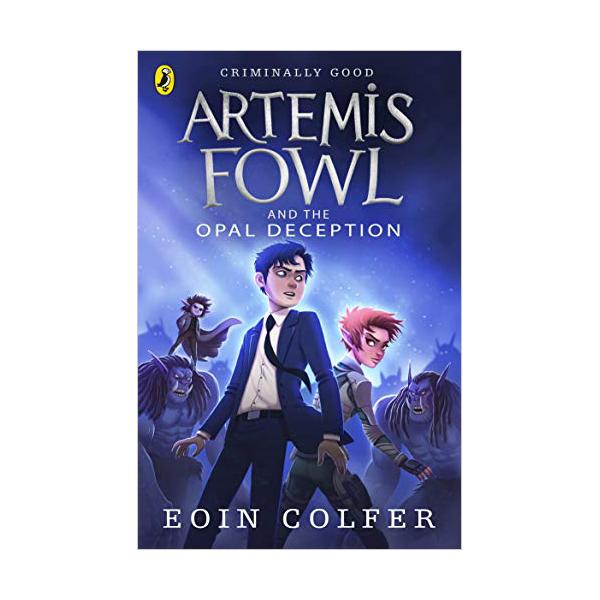 Artemis Fowl #04 : The Opal Deception (Paperback, 영국판)