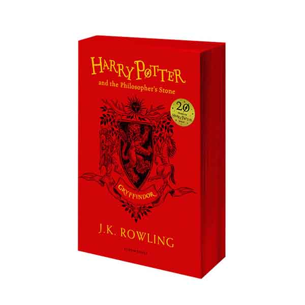 RL 6.0 : #1 Harry Potter and the Philosopher's Stone - Gryffindor Edition (Paperback, 영국판, 해리포터 기숙사 에디션)