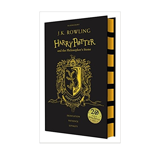 RL 6.0 : #1 Harry Potter and the Philosopher's Stone - Hufflepuff Edition (Hardcover, 영국판, 해리포터 기숙사 에디션)