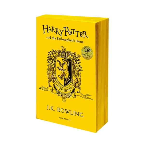 RL 6.0 : #1 Harry Potter and the Philosopher's Stone - Hufflepuff Edition (Paperback, 영국판, 해리포터 기숙사 에디션)