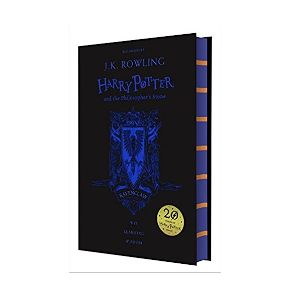RL 6.0 : #1 Harry Potter and the Philosopher's Stone - Ravenclaw Edition (Hardcover, 영국판, 해리포터 기숙사 에디션)