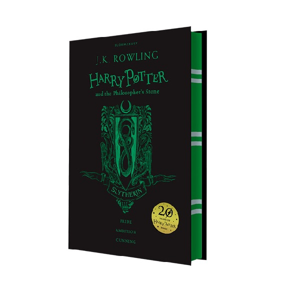 RL 6.0 : #1 Harry Potter and the Philosopher's Stone - Slytherin Edition (Hardcover, 영국판, 해리포터 기숙사 에디션)