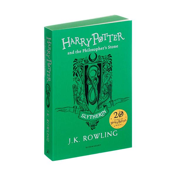[기숙사판/영국판] 해리포터 #01 : Harry Potter and the Philosopher's Stone - Slytherin Edition (Paperback)