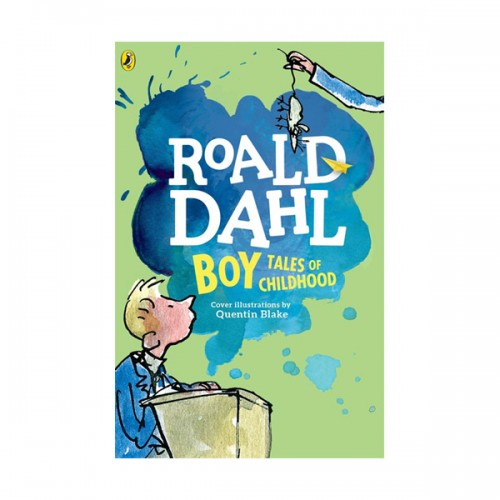 RL 6.0 : Roald Dahl : Boy: Tales of Childhood (Paperback)