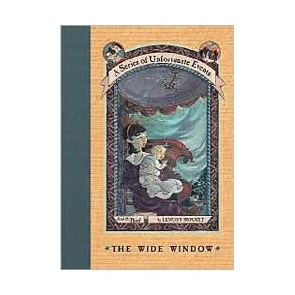 RL 6.3 : A Series of Unfortunate Events #3: The Wide Window (Hardcover, Rough Cut Edition)