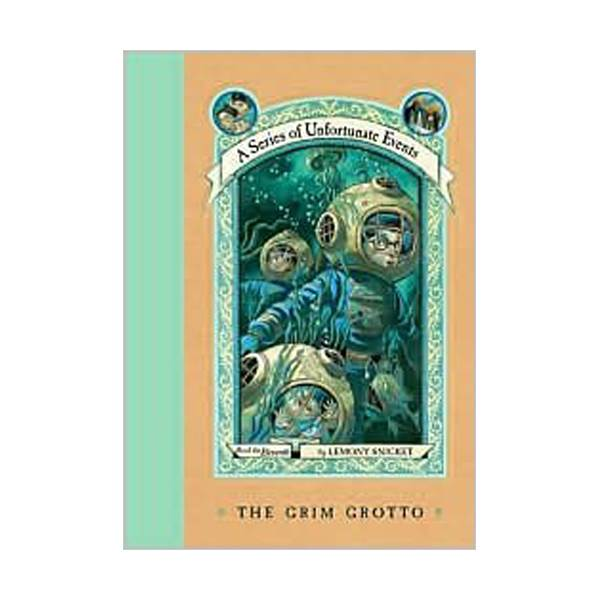 RL 6.5 : A Series of Unfortunate Events #11: The Grim Grotto (Hardcover, Rough Cut Edition)