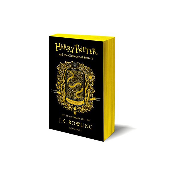 [기숙사판/영국판] 해리포터 #02 : Harry Potter and the Chamber of Secrets - Hufflepuff Edition (Paperback)