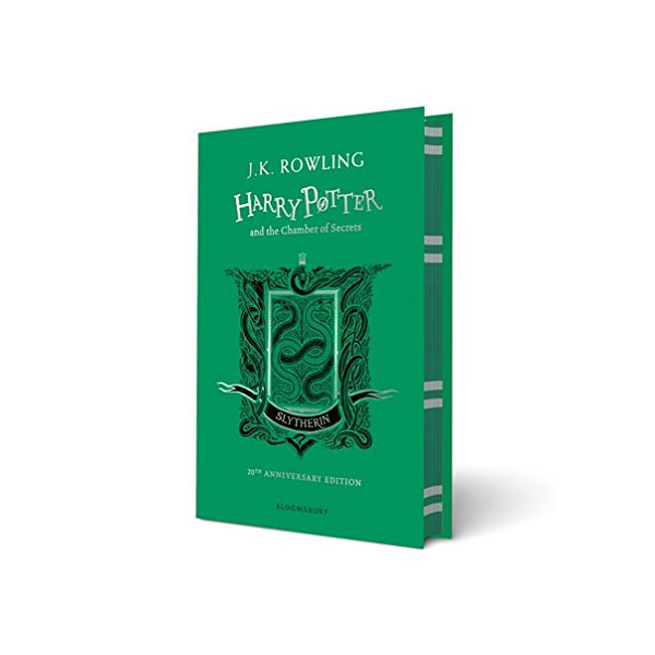[기숙사판/영국판] 해리포터 #02 : Harry Potter and the Chamber of Secrets - Slytherin Edition (Hardcover)