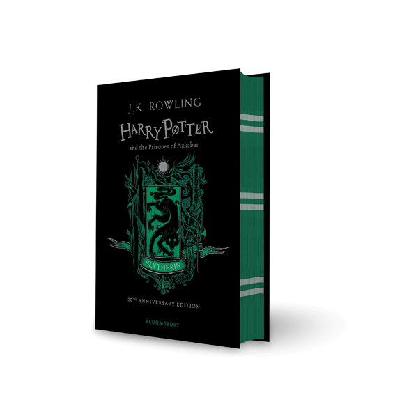 RL 6.7 : #3 Harry Potter and the Prisoner of Azkaban ? Slytherin Edition (Hardcover, 영국판, 해리포터 기숙사 에디션)