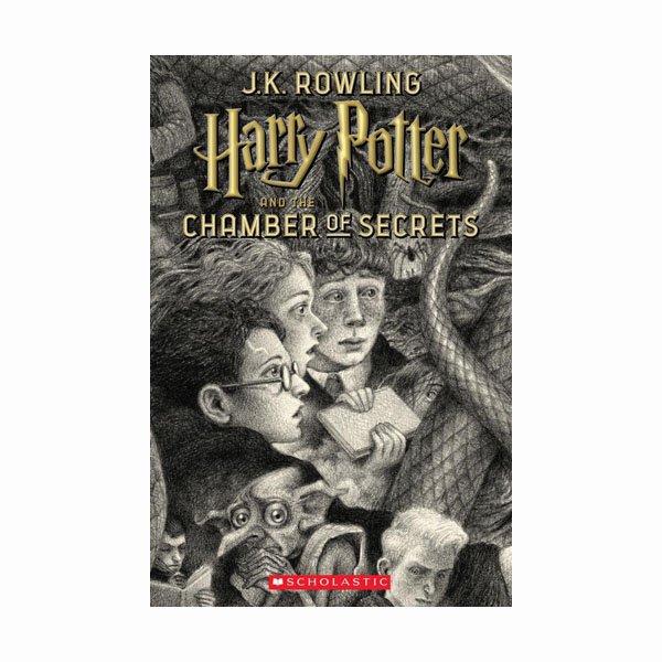 RL 6.7 : Harry Potter #2 : Harry Potter and the Chamber of Secrets (Paperback, 20주년 기념판)