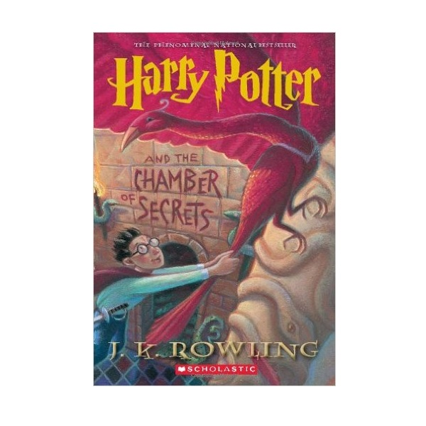 [스콜라스틱]  해리포터 #02 : Harry Potter and the Chamber of Secrets (Paperback, 미국판)
