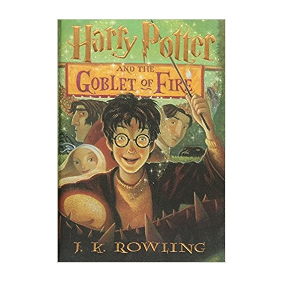 RL 6.8 : Harry Potter #4: Harry Potter and the Goblet of Fire (Hardcover)