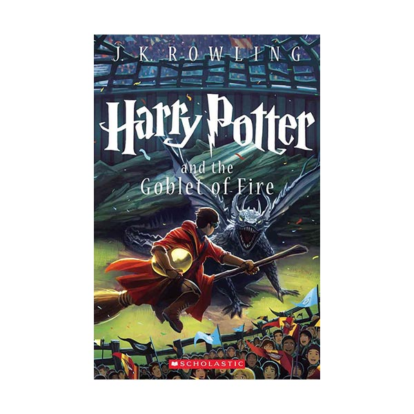 RL 6.8 : Harry Potter #4: Harry Potter and the Goblet of Fire (Paperback)
