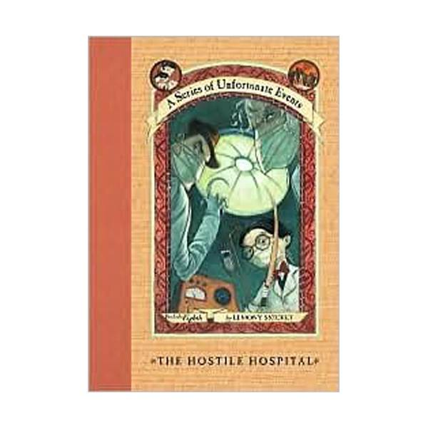 RL 6.9 : A Series of Unfortunate Events #8: The Hostile Hospital (Hardcover, Rough Cut Edition)