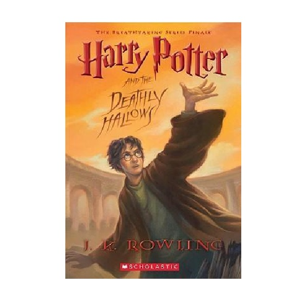 RL 6.9 : Harry Potter #7 : Harry Potter and the Deathly Hallows (Paperback)
