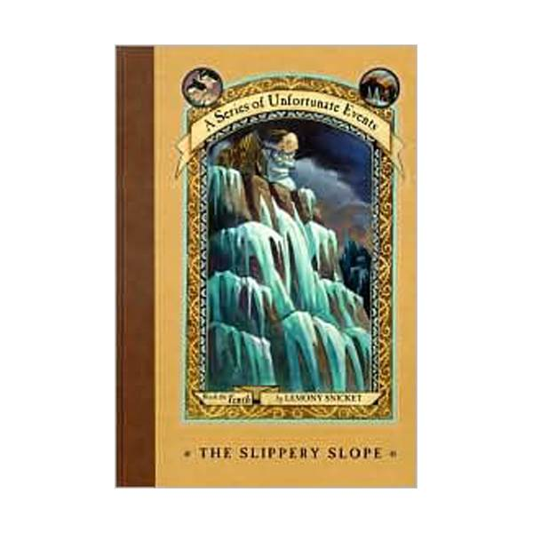 RL 7.1 : A Series of Unfortunate Events #10: Slippery Slope (Hardcover, Rough Cut Edition)