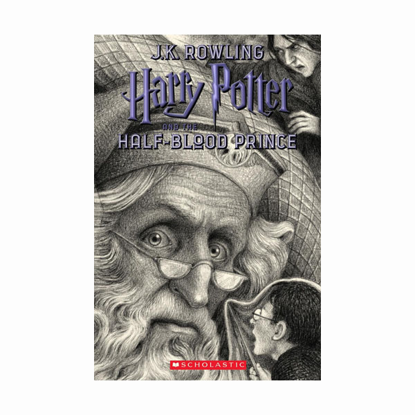 [스콜라스틱]  [20주년판/미국판] 해리포터 #06 : Harry Potter and the Half-Blood Prince (Paperback)
