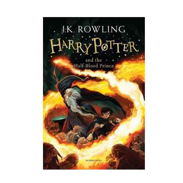 RL 7.2 : Harry Potter #6 : Harry Potter and the Half-Blood Prince (Paperback, 영국판)