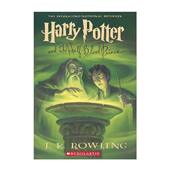 해리포터 #06 : Harry Potter and the Half-Blood Prince (Paperback, 미국판)