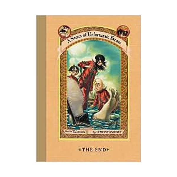 RL 7.3 : A Series of Unfortunate Events #13: The End (Hardcover, Rough Cut Edition)